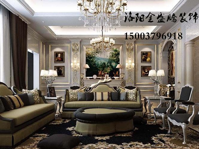 国宝花园别墅欧式风格设计